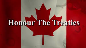 Honour The Treaties Flag Small